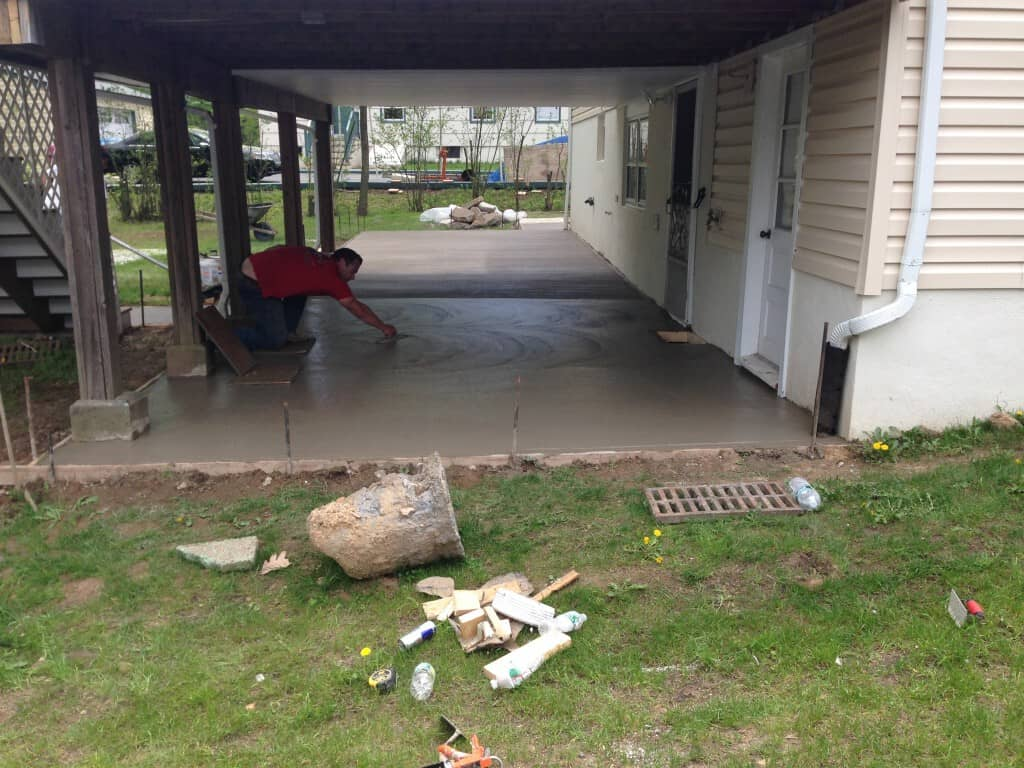 Replace Cement Patio