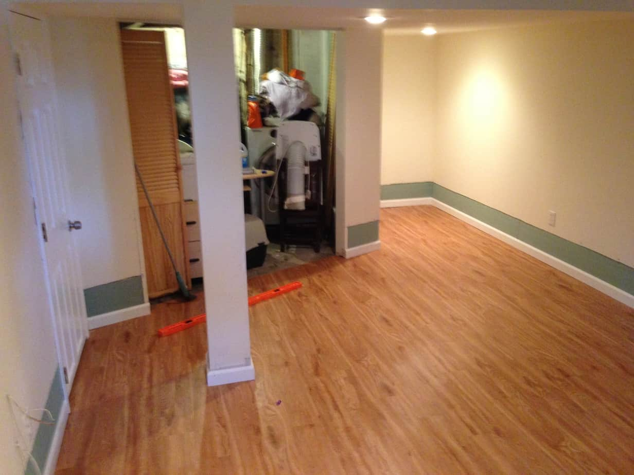 Flooding Repair Hardwood Floor Sheetrock Trim And