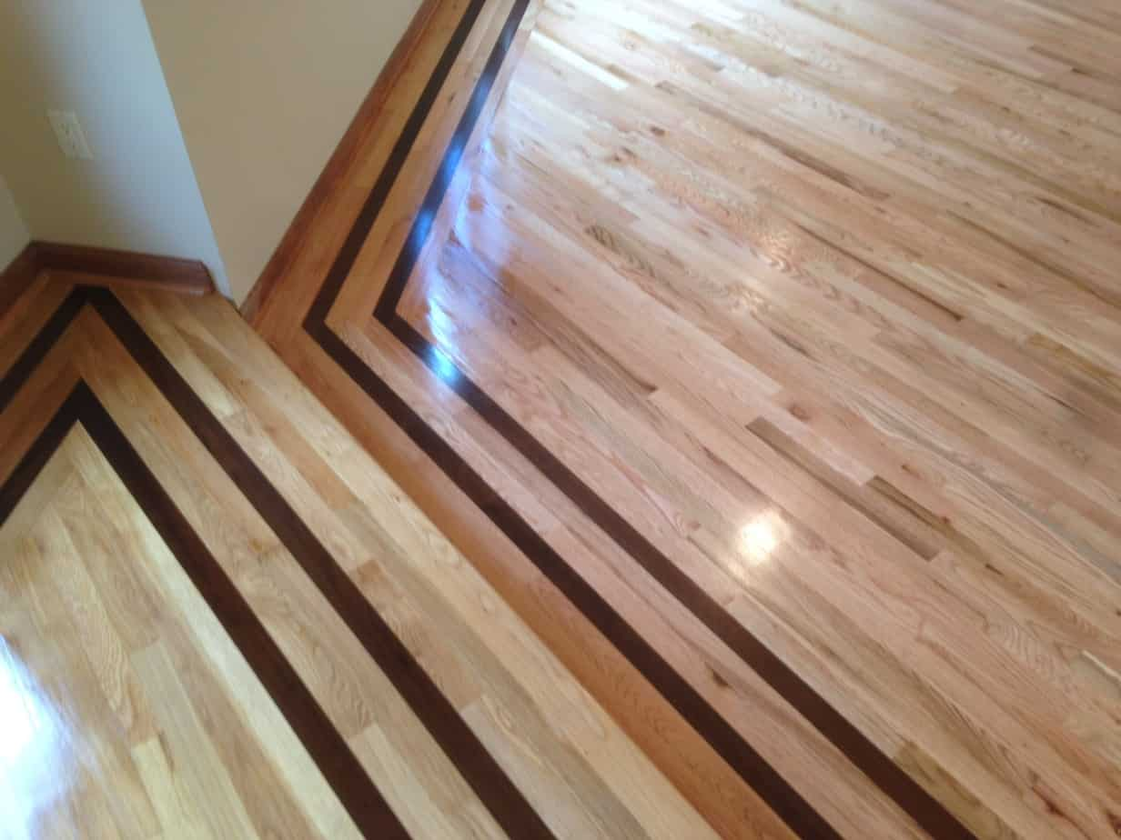Installing hardwood floors in a commercial office for Laying hardwood floors