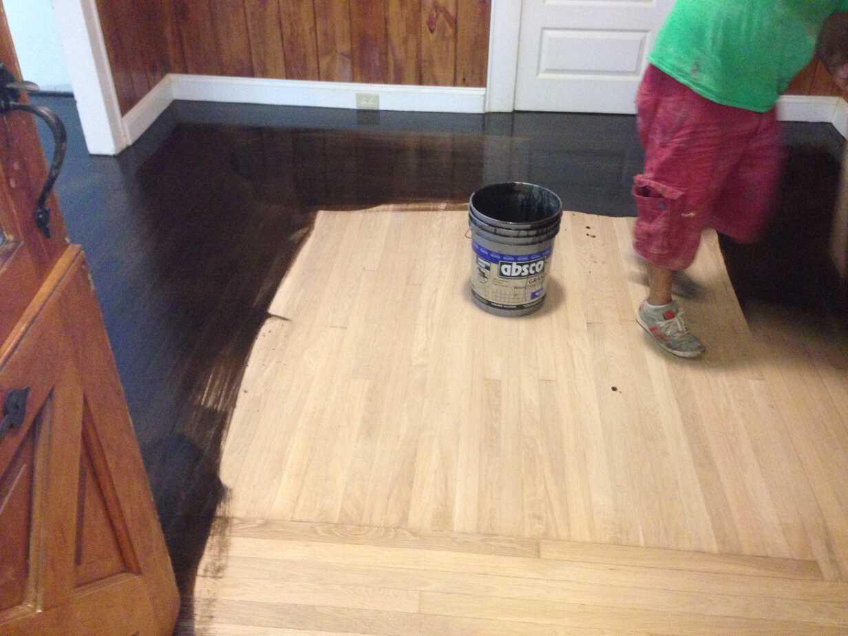 Can You Paint Laminate Flooring Black Designs