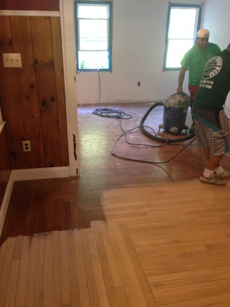Hardwood Floors in a Residential Home – Flanders NJ