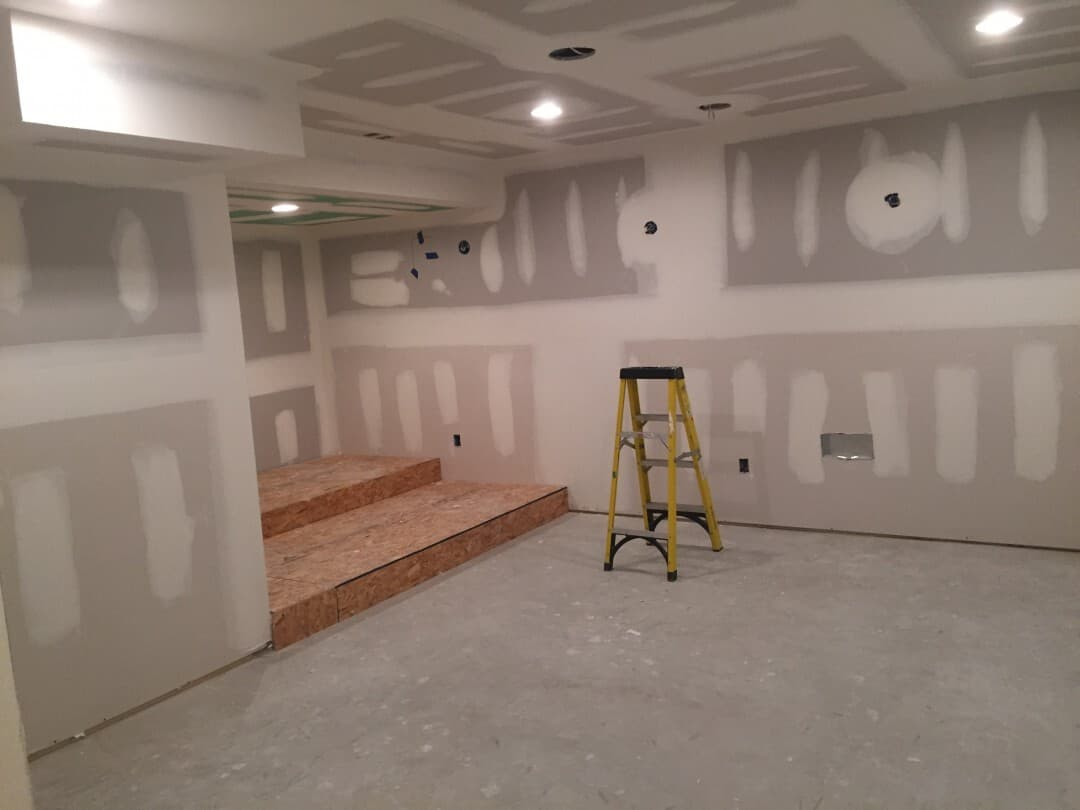 Residential Basement Buildout and Remodel| Flanders NJ