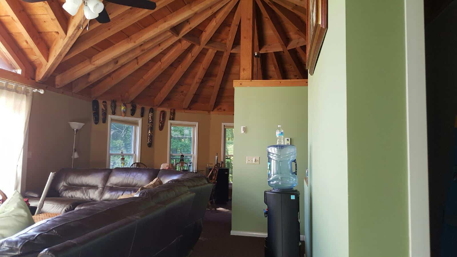 Ski House Painting, Flooring, Cabinets and Trim | Hunter NY