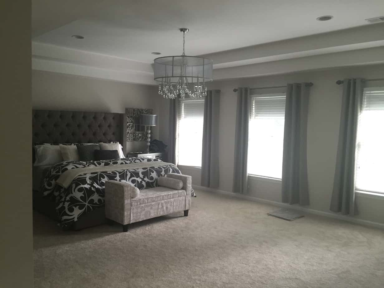 Residential Interior House Painting New Trim