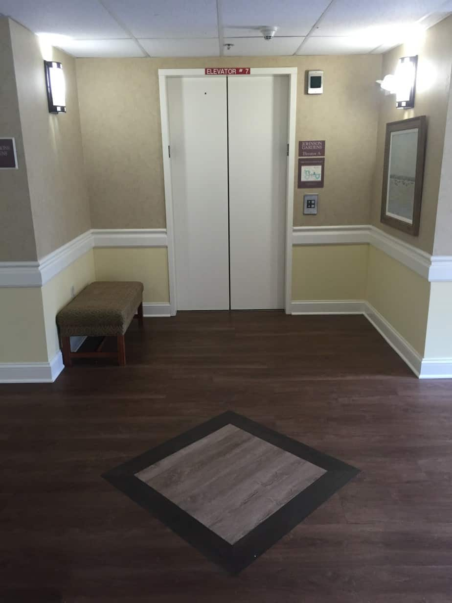 Retirement Building Hallway Remodel | Maplewood NJ