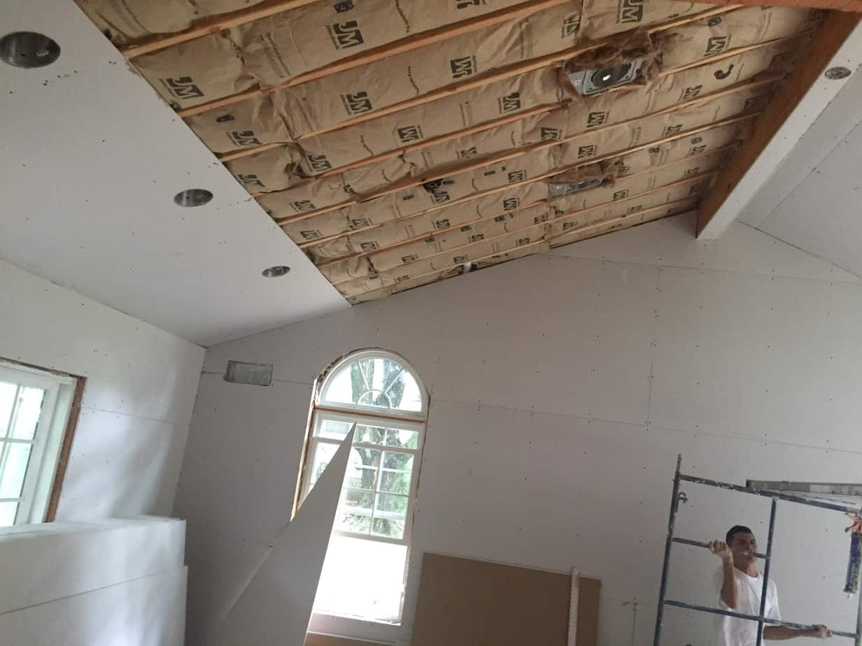 insulation and sheet rock in whippany nj. Black Bedroom Furniture Sets. Home Design Ideas