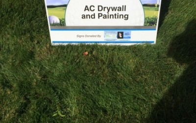 AC Drywall and Painting supporting our local community – Wayne PAL 2015 Annual Golf Outing Sponsor