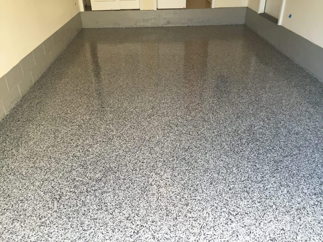 Garage Floor Renovation and Finish | Morris Plains
