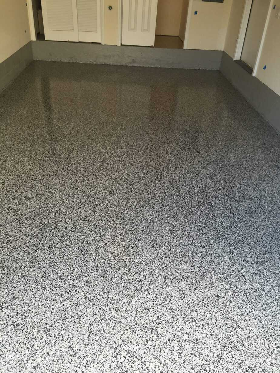 garage floor renovation and finish | morris plains - ac drywall