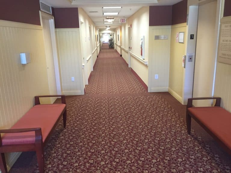 Retirement Community | Hallway Renovation | Stonebridge at Montgomery | Skillman