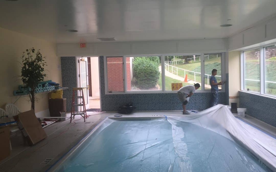 Pool Renovation in Complex | Denville